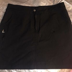 Women's Antigua Golf Skort Black Size 8